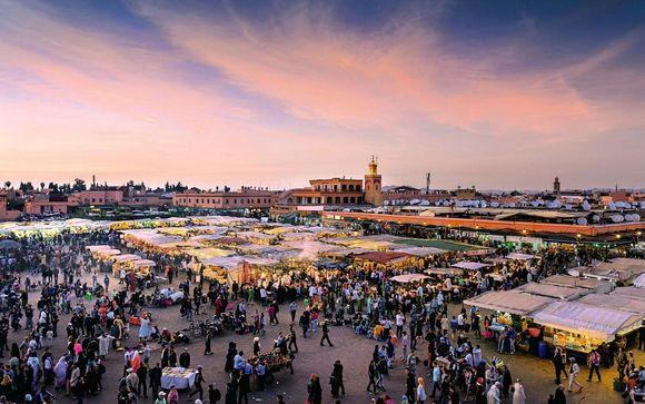Ihr enthaltener Ausflug nach Marrakesch