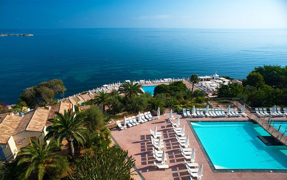 4* Kombireise: Domina Coral Bay Hotel und Il Picciolo Etna Golf Resort & Spa
