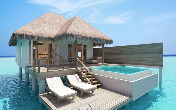 Sun Aqua Iru Veli 5* mit optionalem Stopover in Dubai