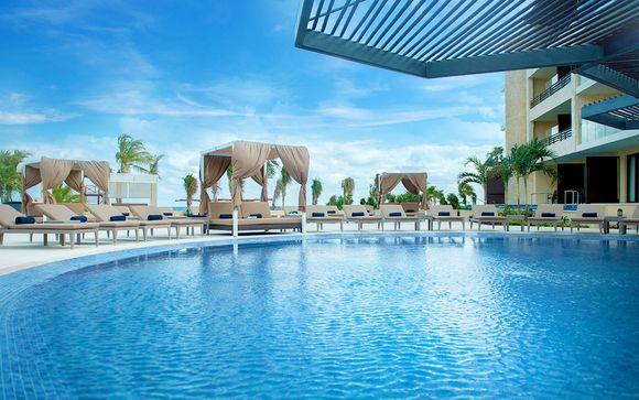 Luxury Suite mit Jacuzzi-Terrasse und All inclusive in 9 Restaurants