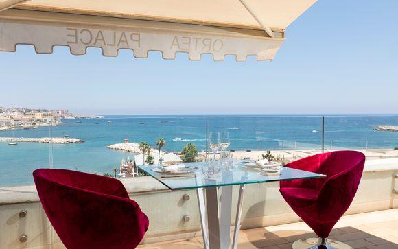 Wunderschönes Hotel im Herzen von Syrakus