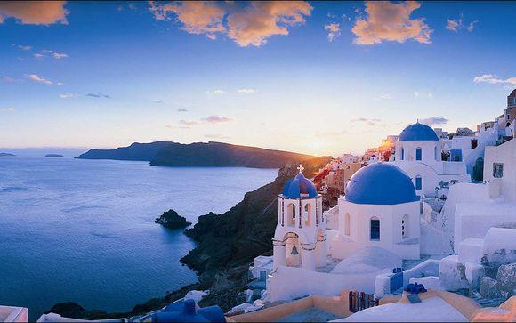 Willkommen in... Santorini!