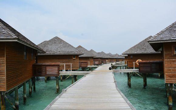 Ihr Zimmer im Vakarufalhi Island Resort