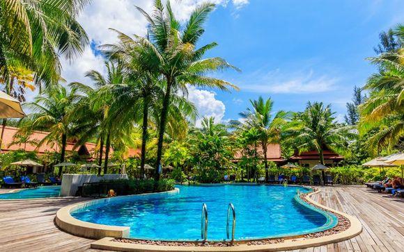 Khao Lak Bhandari Resort & Spa 4* & optionaler Aufenthalt GLOW Ao Nang Krabi 4*