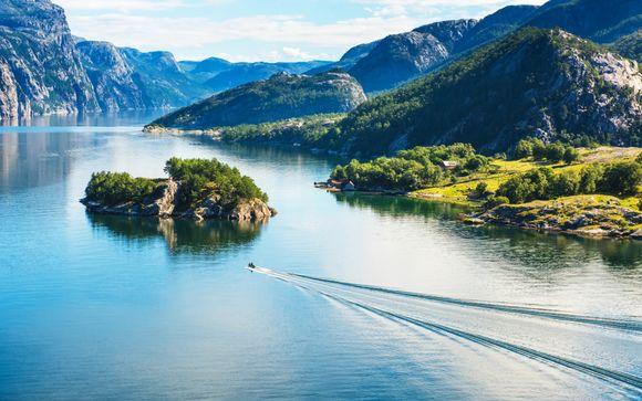 Fjord-Kreuzfahrt zum Lysefjord und Preikestolen