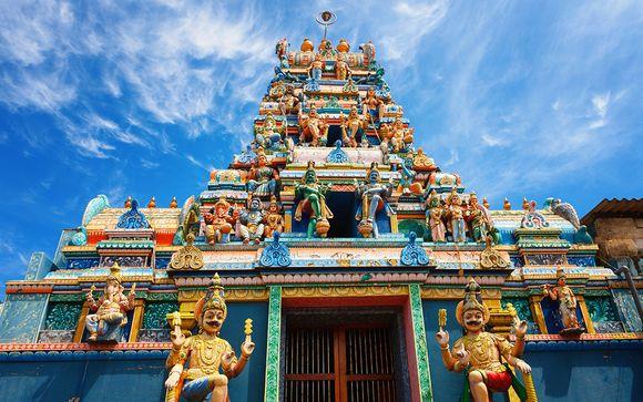 Sri Lanka Tour & 4* Strandaufenthalt