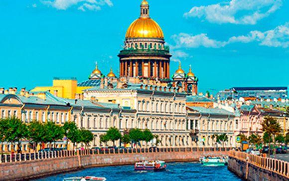Ihre Optionen in St. Petersburg