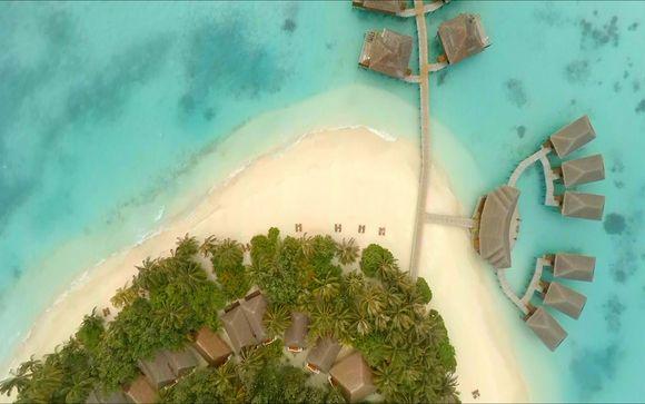 Ihre Erweiterung im Hotel Vakarufalhi Island Resort 4* Sup