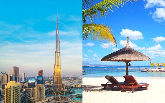Reise zwischen moderner Stadt und Paradies