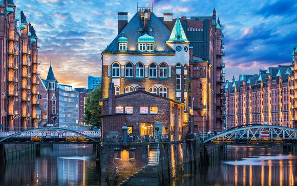Willkommen in... der Hansestadt Hamburg!
