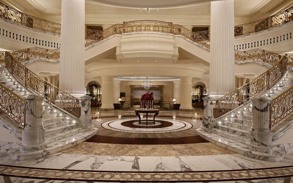 Habtoor Palace Dubai, LXR Hotels & Resorts 5* y espectáculo La Perle