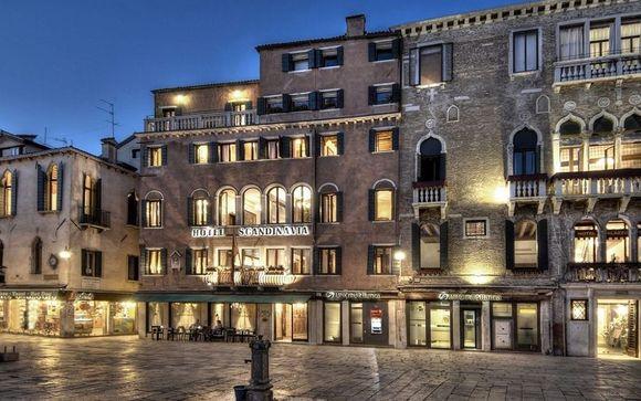 El Hotel Scandinavia Venice le abre sus puertas