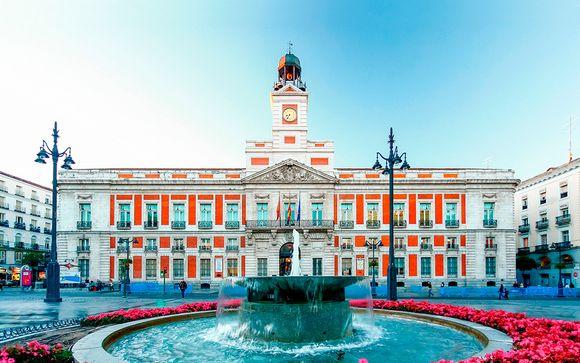 Madrid - Hotel Quatro Puerta del Sol 4*