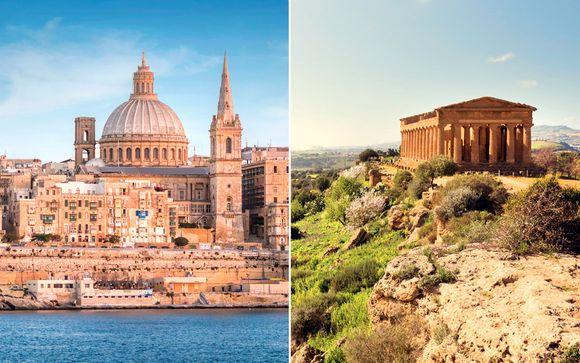 Malta Valletta - Combinado entre Sicilia y Malta en barco en hoteles de 4* desde 1.223,00 €
