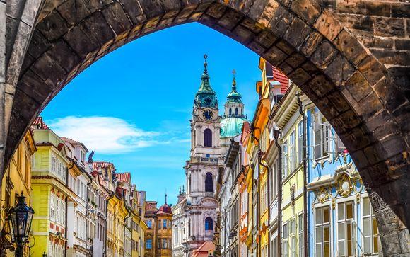 Escapada a la capital checa con glamour