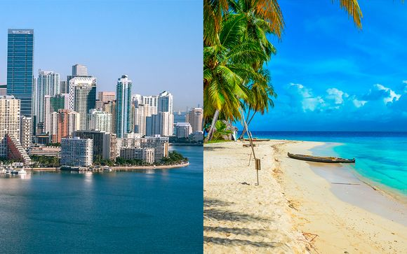 Estados Unidos Miami - Nautilus South Beach Miami 4* y Westin Playa Bonita Panamá 5* desde 1.437...