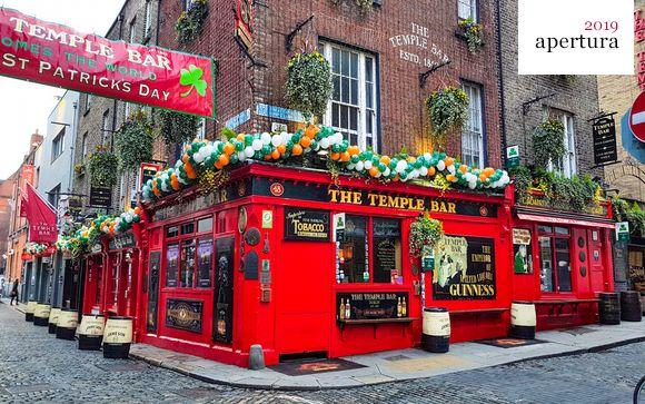 Escapada a hotel de nueva creación en el corazón de Dublín
