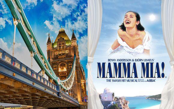 Corus Hyde Park 4* con entradas a Mamma Mia y cena típica