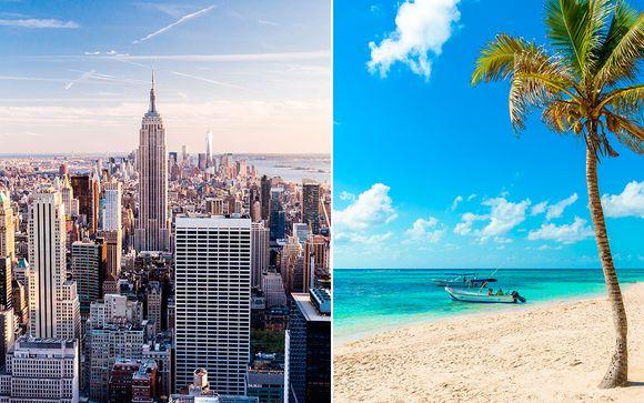 México Riviera Maya - Wyndham New Yorker Hotel 4* y Ocean Coral & Turquesa 5* desde 1.113,00 €