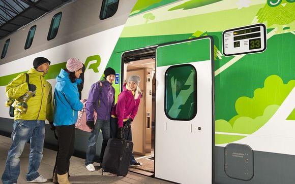 Tren nocturno de Helsinki a Rovaniemi (oferta 2)