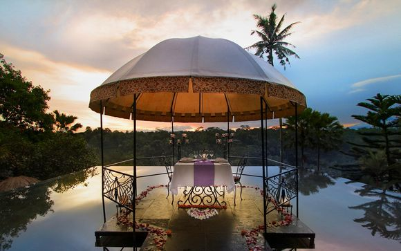 Jungle Retreat Ubud 5* y Kupu Kupu Jimbaran 5*