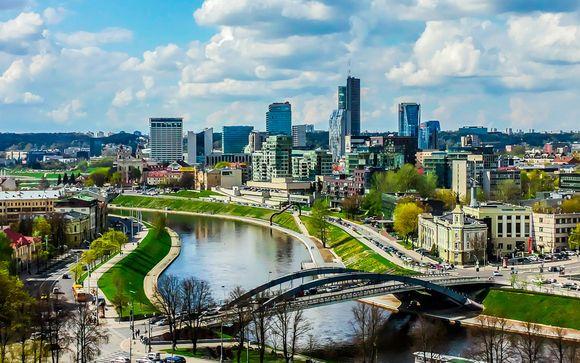 Itinerario 8 noches de Estocolmo a Vilnius