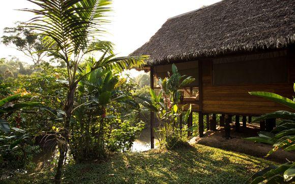 Extensión a Amazonas  en hotel Superior (solo con opción 2)