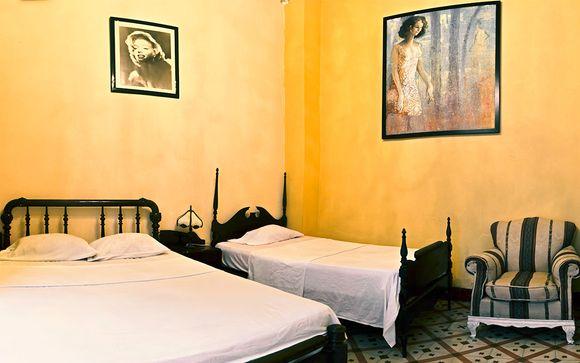 Casa particular en La Habana y Trinidad