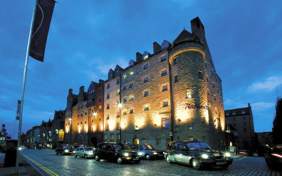 Hotel Radisson Blu Edinburgh 4*
