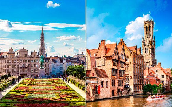 Bélgica Bruselas - Hotel BLOOM! 4* y Hotel Montanus 4* desde 140,00 €