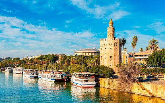 Enamórate del arte andaluz con tu crucero por el Guadalquivir