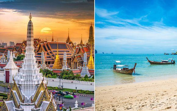 Tailandia Bangkok - Column Hotel Bangkok 4* y Aonang Villa Resort 4* desde 1.173,00 €