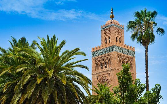 Extiende tu viaje 2 más noches en Marrakech