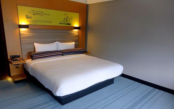 El Hotel Aloft Kuala Lumpur Sentral 4* le abre sus puertas