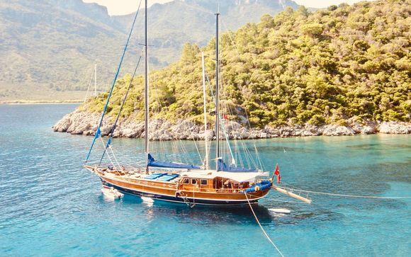 Crucero en goleta por Kotor