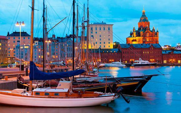Las 4 Perlas del Báltico con 3 Noches en Estocolmo