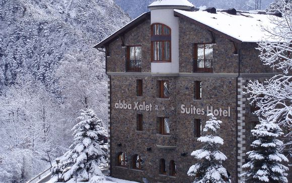 Abba Xalet Suites 4* La Massana Andorra en Voyage Prive por 93.00 EUR€