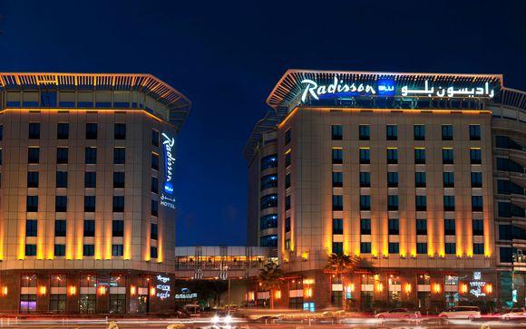 El Radisson Blu Dubai Media City le abre sus puertas