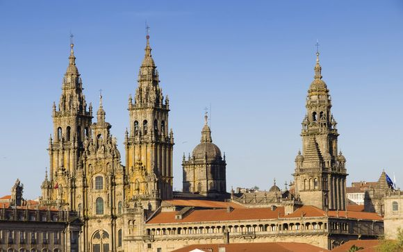 Santiago de Compostela le espera
