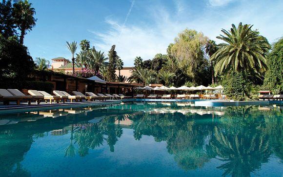 Marruecos Marrakech - Es Saadi Marrakech Resort- Hotel 5* desde 152,00 ? con Voyage Prive en Marrakech Marruecos