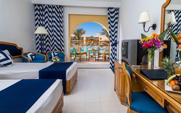 Estancia junto al mar en el Hotel Desert Rose 5* o similar