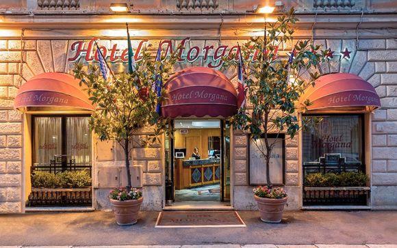 Italia Roma Hotel Morgana 4* desde 94,00 €