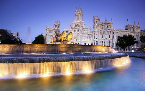 Madrid Hotel Eurostars Gran Madrid 4*