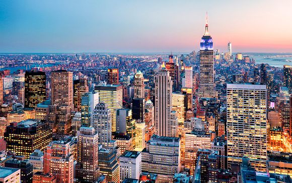 Itinerario con extensión a Nueva York