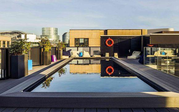 Francia París - Hotel Mercure Paris Boulogne 4* desde 99,00 €
