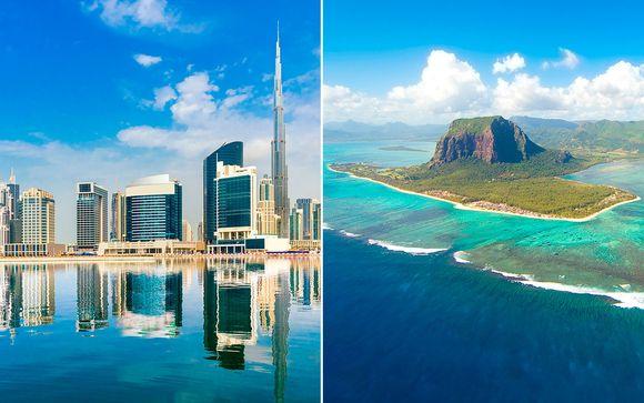 Crowne Plaza Dubai Festival City 5* y Outrigger Mauritius 5*