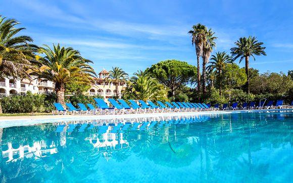 Francia Grimaud - Hotel Soleil de Saint-Tropez 4* desde 109,00 €