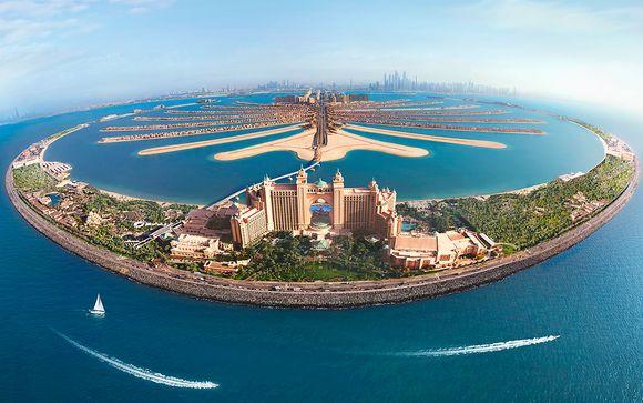 Emblemático hotel en Palm Jumeirah y vuelos con Emirates