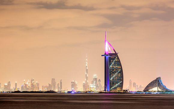 Lujosas vacaciones en el Golfo Pérsico y vuelos con Emirates