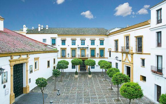 Estilo andaluz en el centro histórico
